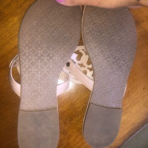 Tory Burch Shoes - Nude Tory Burch Miller Sandals *LIKE NEW*